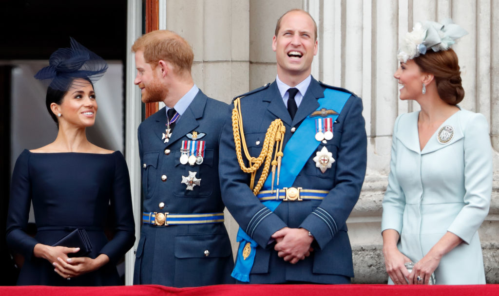 Prince Harry, Meghan Markle, Prince William, Kate Middleton
