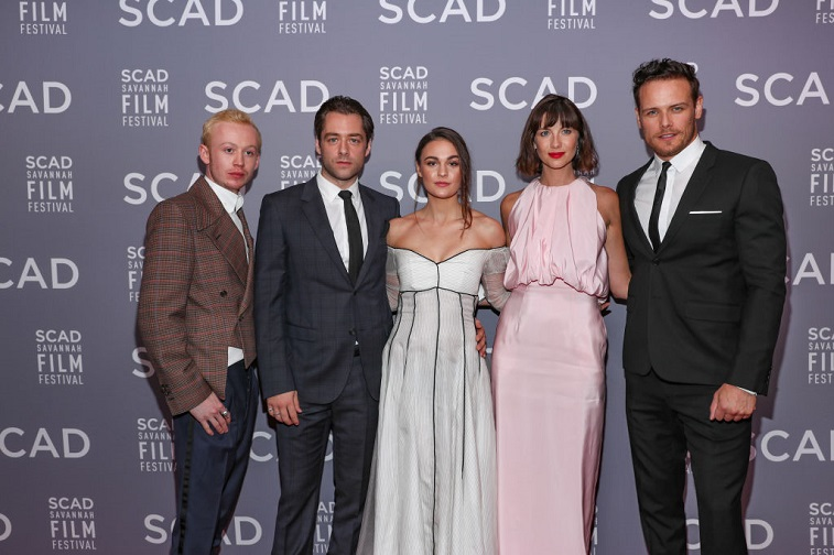 The cast of Outlander