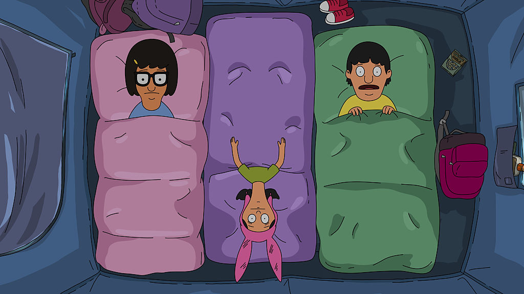 Tina, Gene, and Louise Belcher.