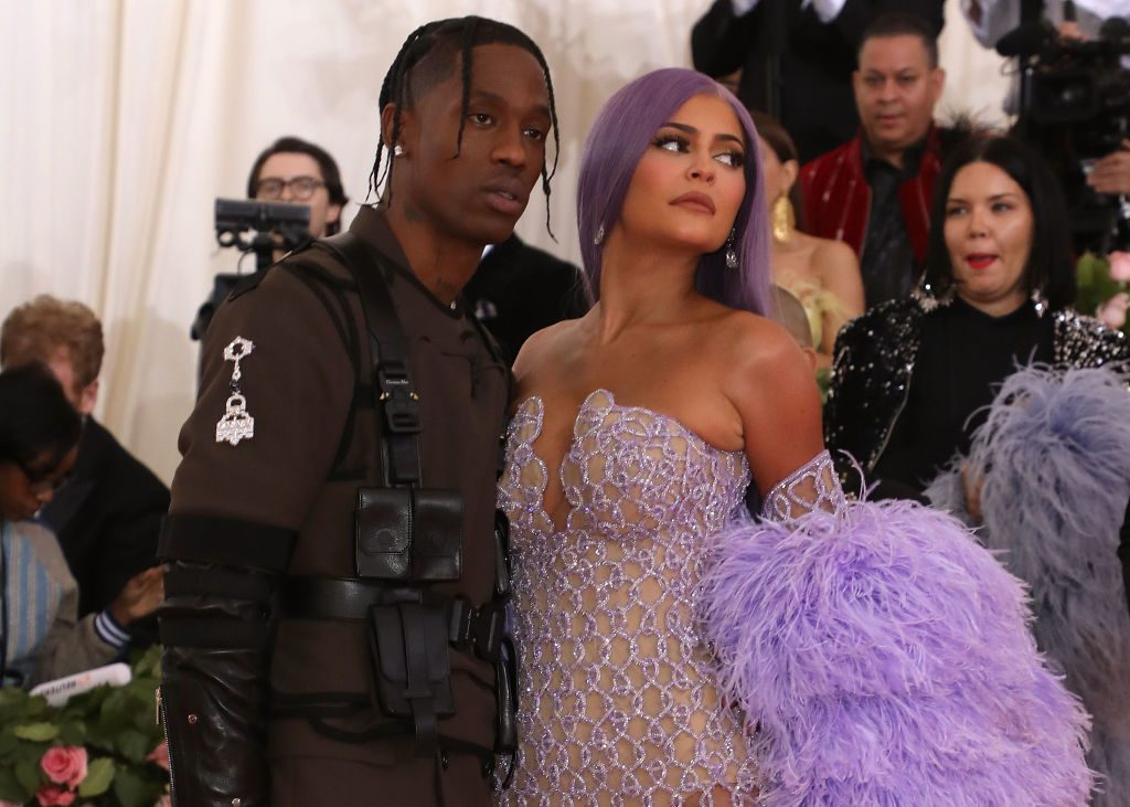 Travis Scott and Kylie Jenner Playboy