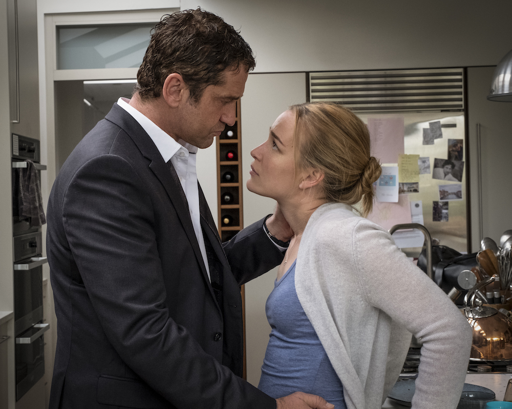 Gerard Butler and Piper Perabo