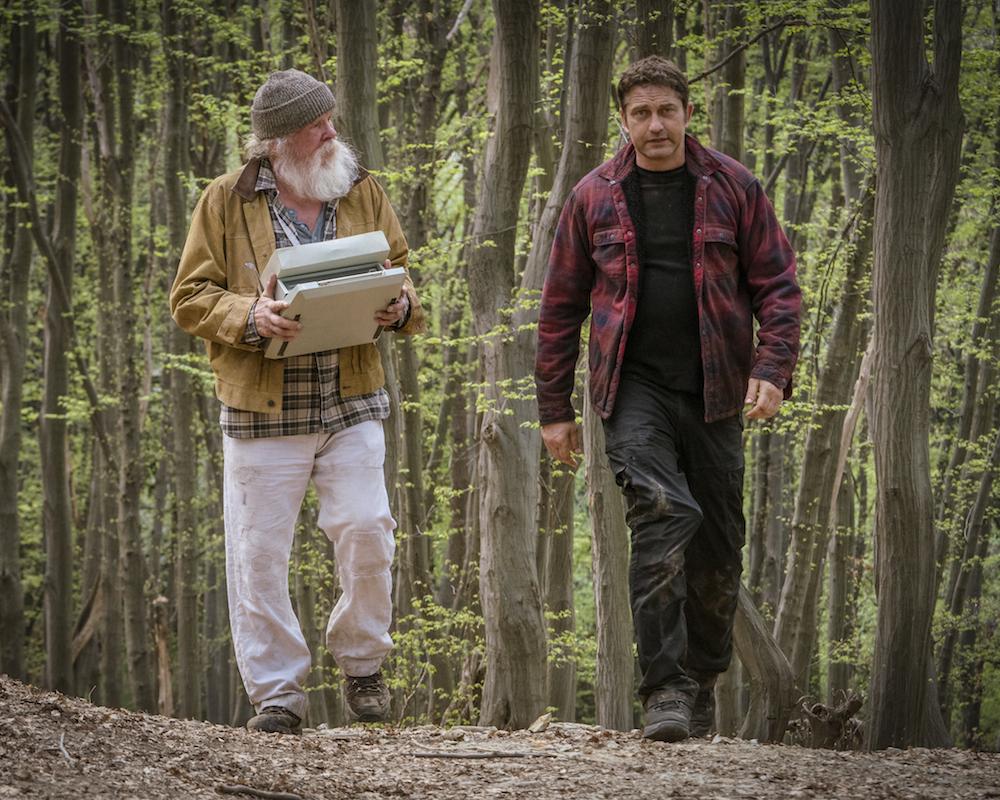 Nick Nolte and Gerard Butler in Angel Has Fallen