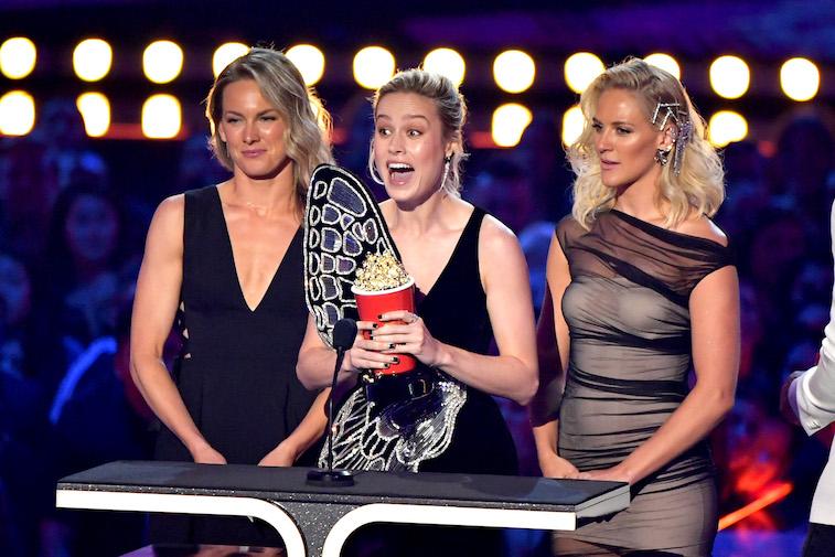 Brie Larson stunt doubles