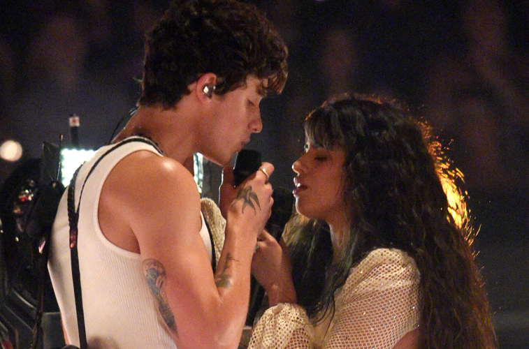 Camila Cabello and Shawn Mendes performed 'Señorita' at the MTV VMAs