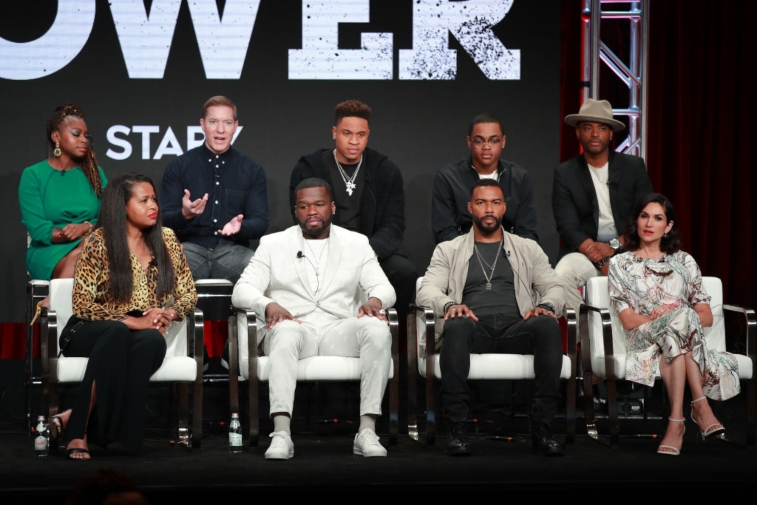 Cast of 'Power' at TCA 2019