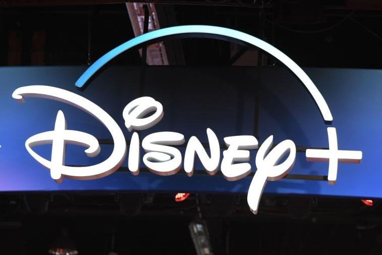 Disney+ display sign