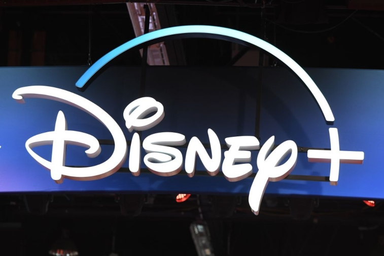 Disney+ display sign