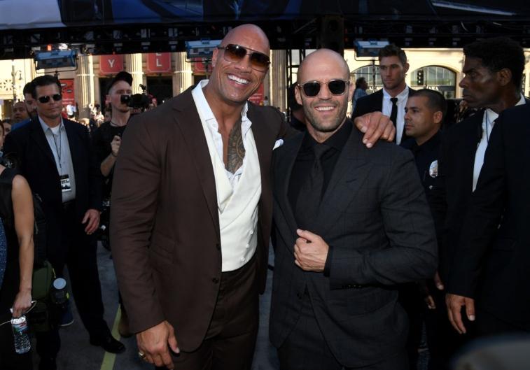 Dwayne The Rock Johnson and Jason Statham