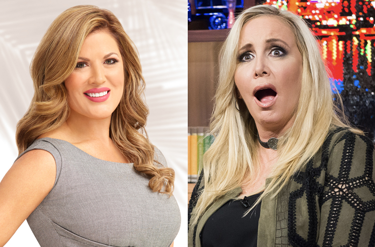 Emily Simpson and Shannon Beador from 'RHOC'
