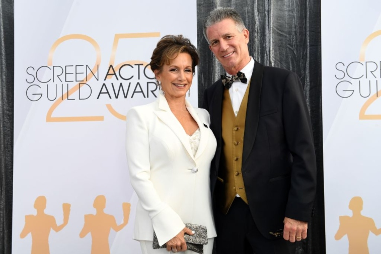 Gabrielle Carteris and Charles Isaacs