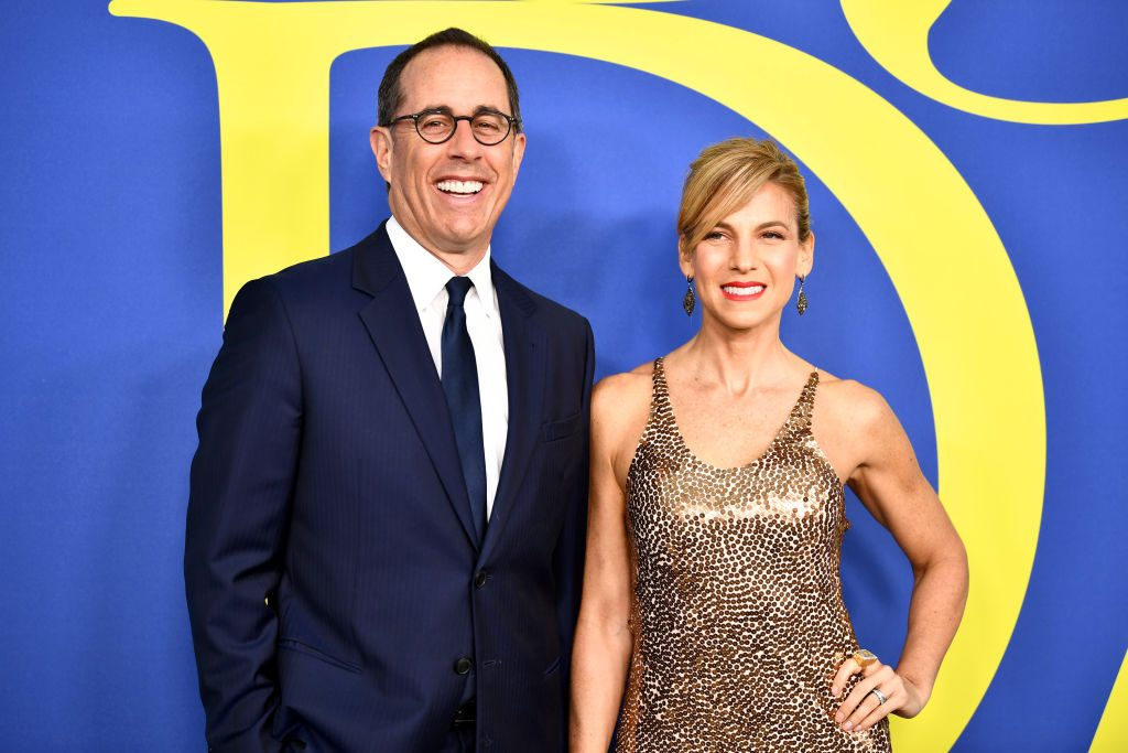 Jerry Seinfeld and his wife Jessica attend the CFDA Fashion Awards