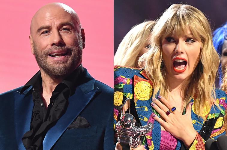 John Travolta confused Taylor Swift at the MTV VMAs