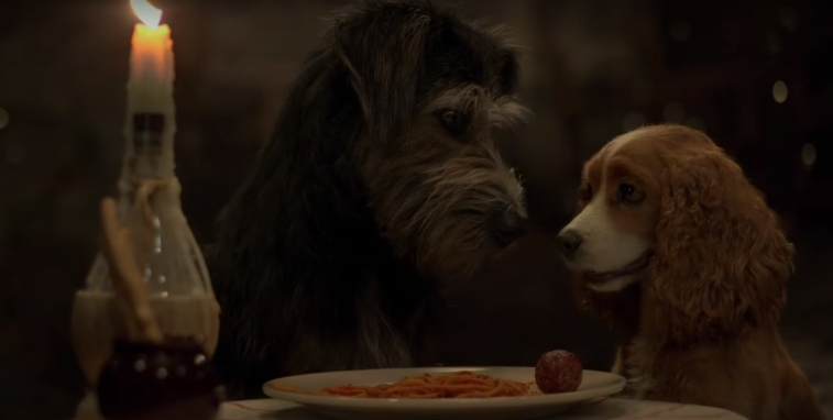 'Lady and the Tramp'