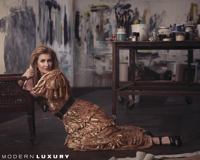 Laura Dern in Modern Luxury