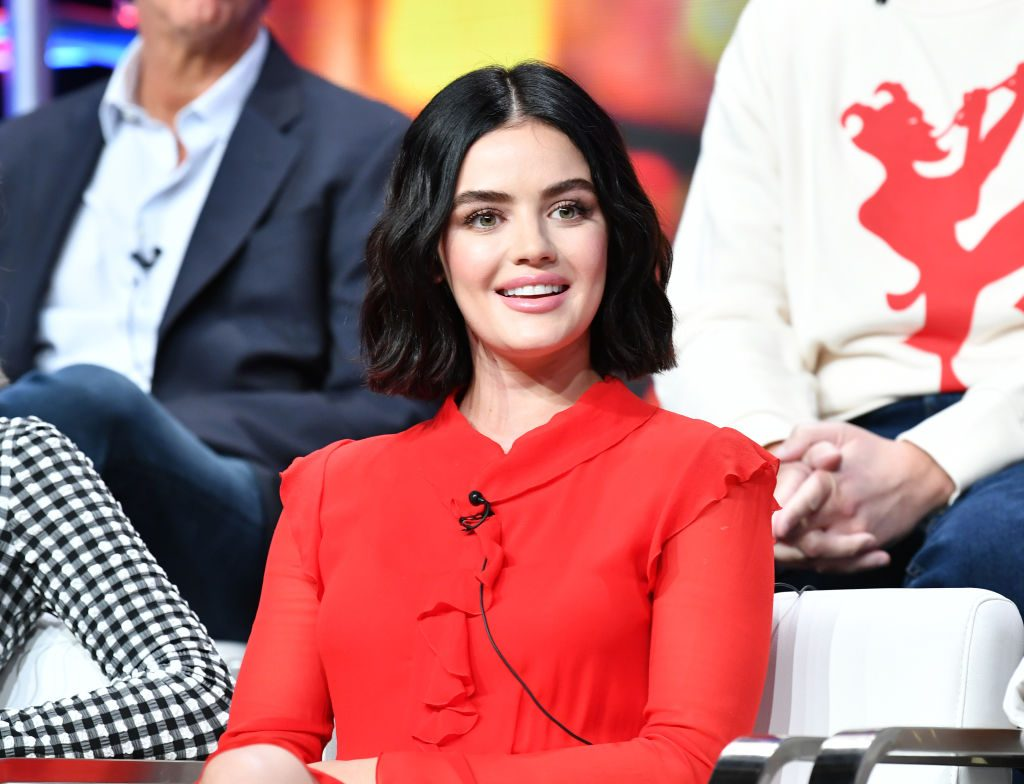 Lucy Hale attends 2019 Summer TCA Press Tour - Day 13 at The Beverly Hilton Hotel on August 04, 2019 in Beverly Hills, California.