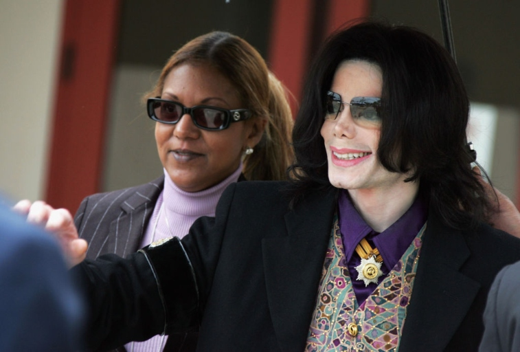 Michael Jackson and Raymone Bain, 2005