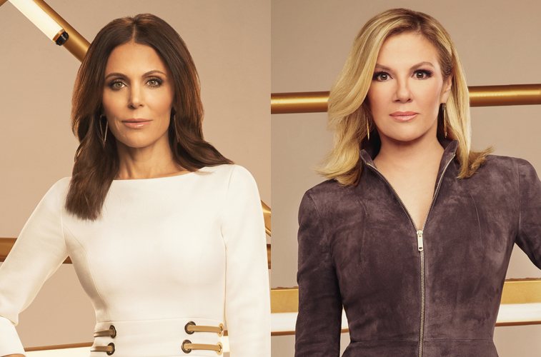 Bethenny Frankel and Ramona Singer