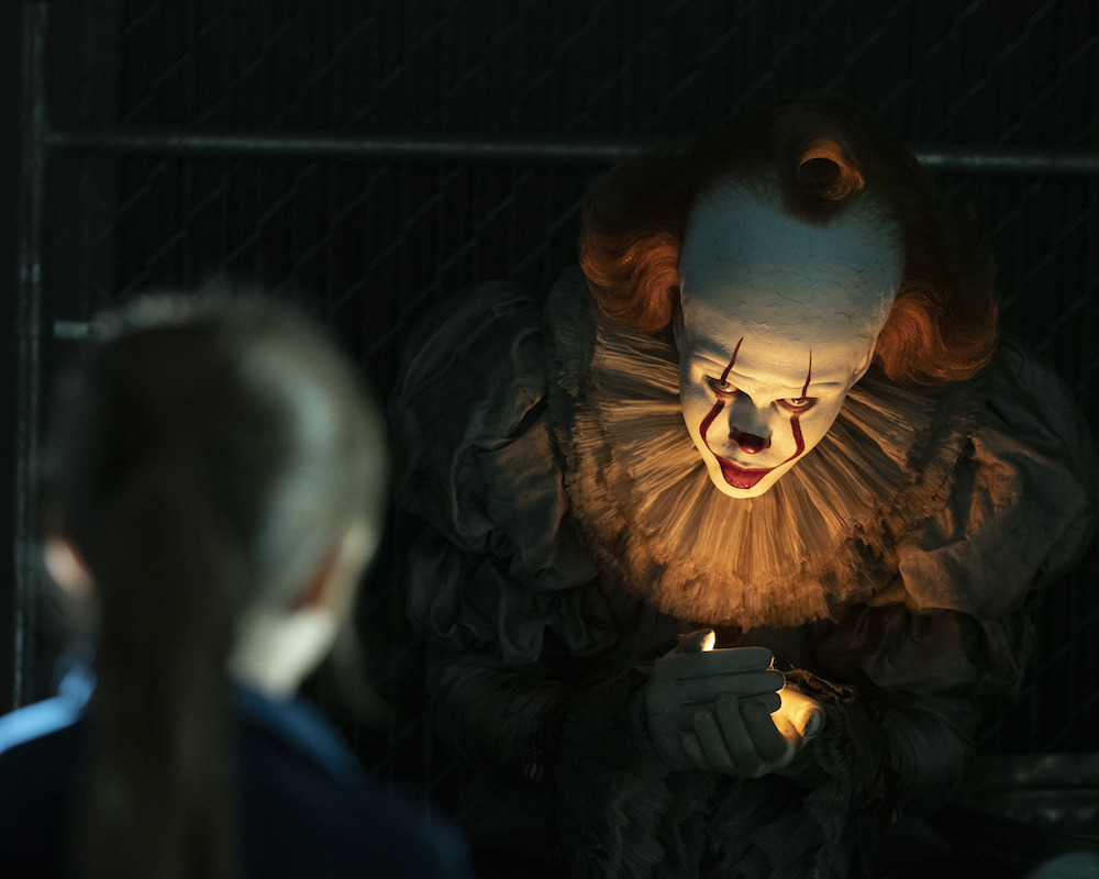 Bill Skarsgard as Pennywise in It: Chapter Two