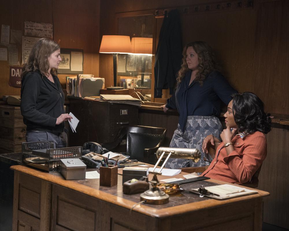 Andrea Berloff directs Tiffany Haddish and Melissa McCarthy