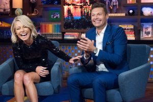 Does Ryan Seacrest Get Along With Kelly Ripa's Husband, Mark Consuelos?