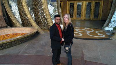 Sumit and Jenny Slatten of 90 Day Fiancé