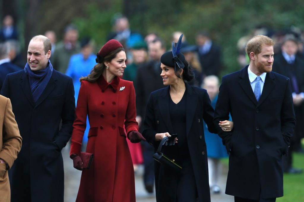 Cambridges and Sussexes