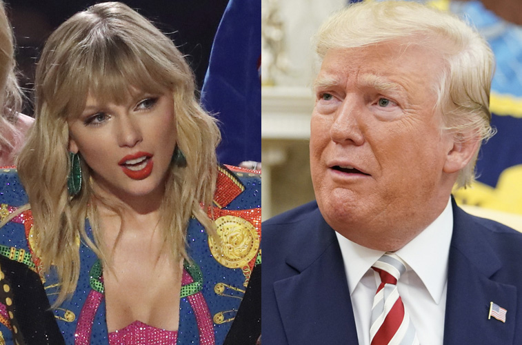 Taylor Swift gets response from Donald Trump's White House