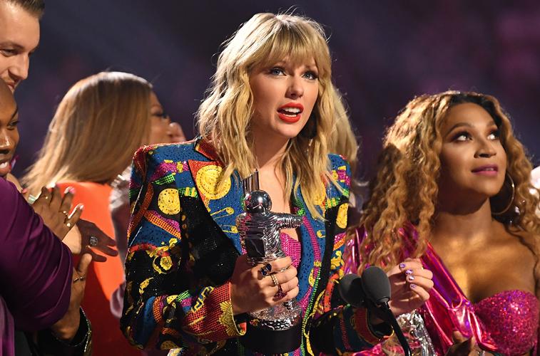 Taylor Swift was present at the VMAs