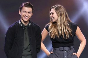 Marvel v. Sony: Elizabeth Olsen Calls Tom Holland 'The Greatest Spider-Man to Me'