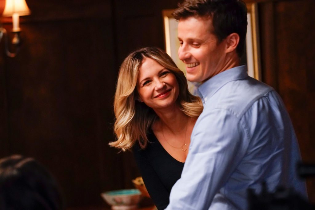Will Estes and Vanessa Ray | John Paul Filo/CBS via Getty Images