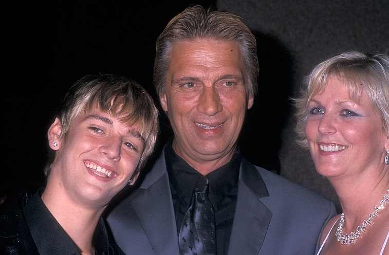 Aaron Carter and family