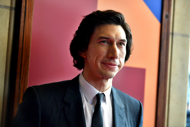 Adam Driver on the red carpet