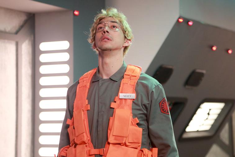 Adam Driver as Matt the Radar Technician on Saturday Night Live