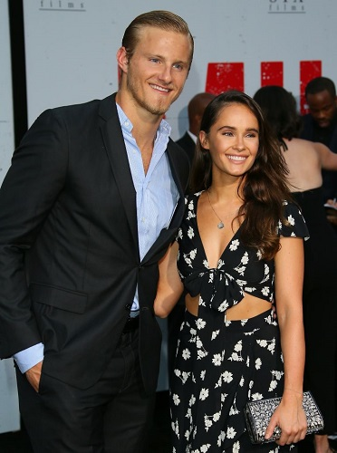 Alexander Ludwig and Kristy Dinsmore