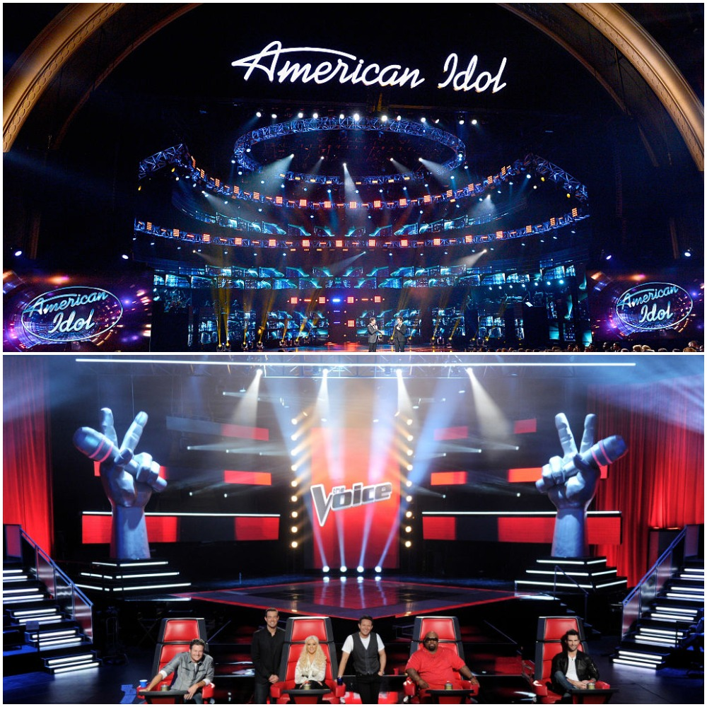 American Idol and The Voice