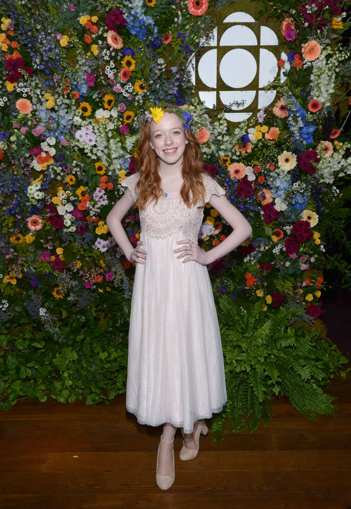 Amybeth McNulty at the CBC Anne with an E premiere