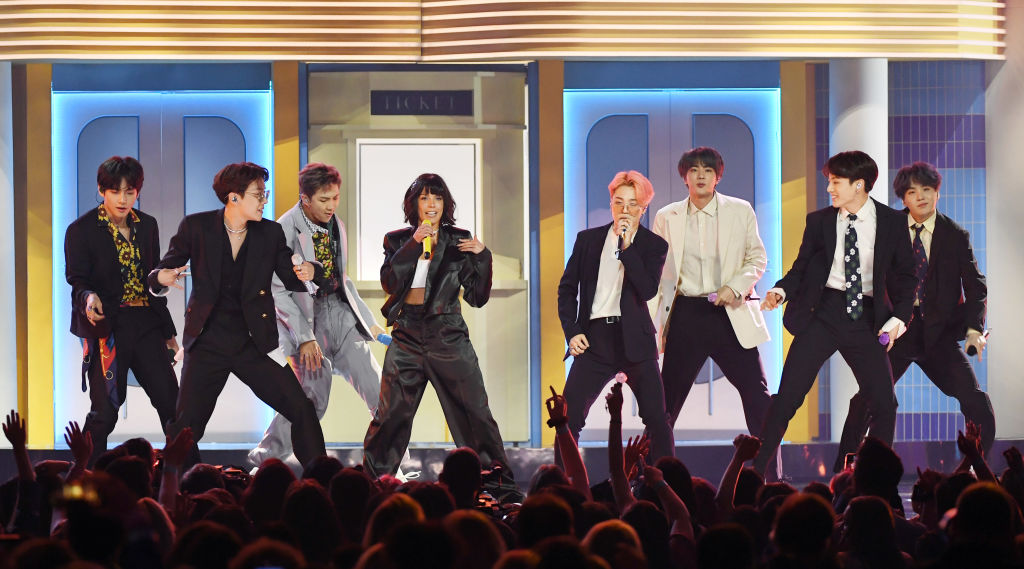 BTS and Halsey reunion