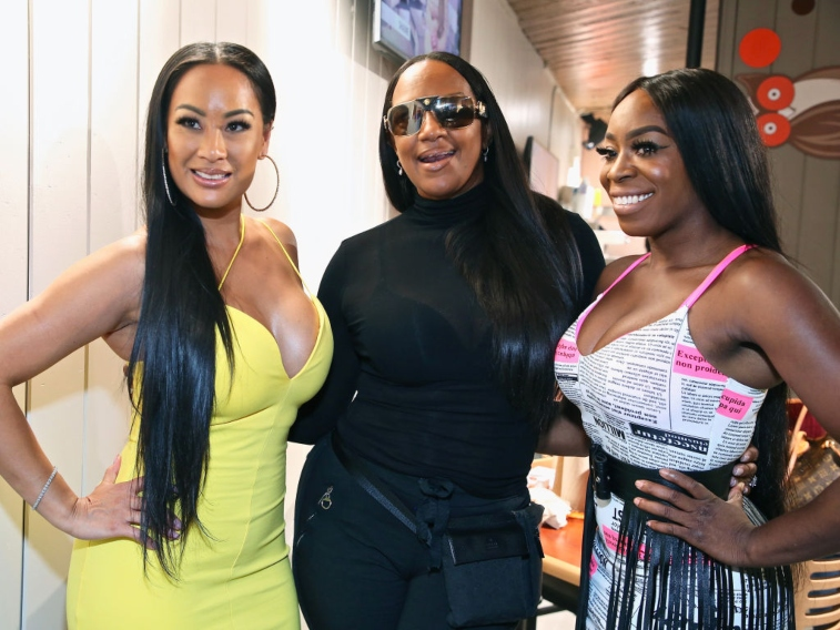 'Basketball Wives' cast members Cece, Jackie, and OG