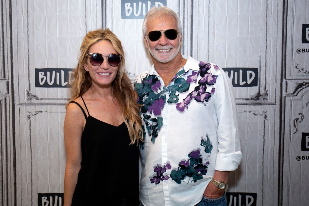 Kate Chastain and Captain Lee