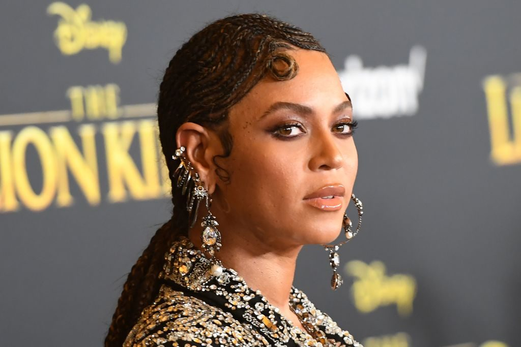 Beyonce at The Lion King 2019 premiere