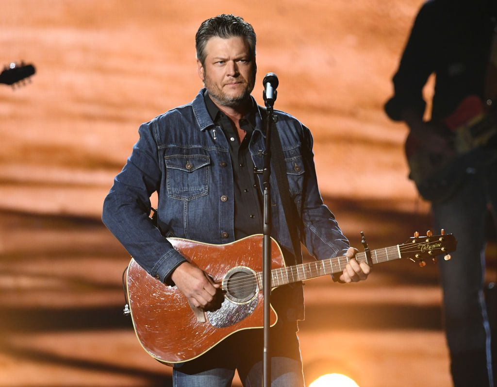 Blake Shelton performs onstage during the 54th Academy Of Country Music Awards