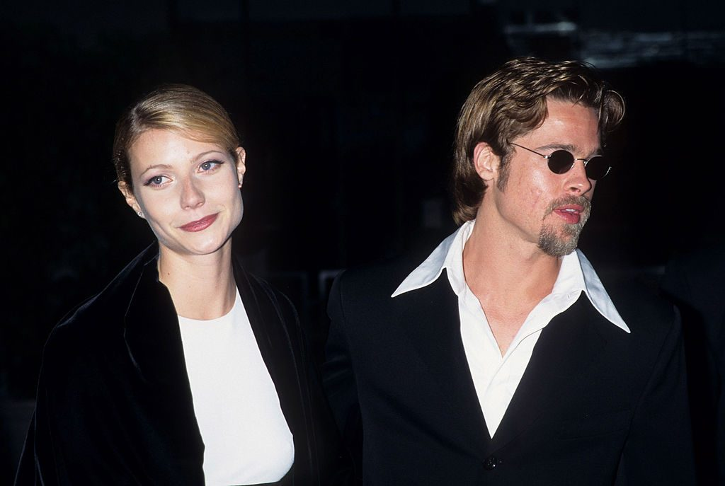 Gwyneth Paltrow and Brad Pitt on the red carpet