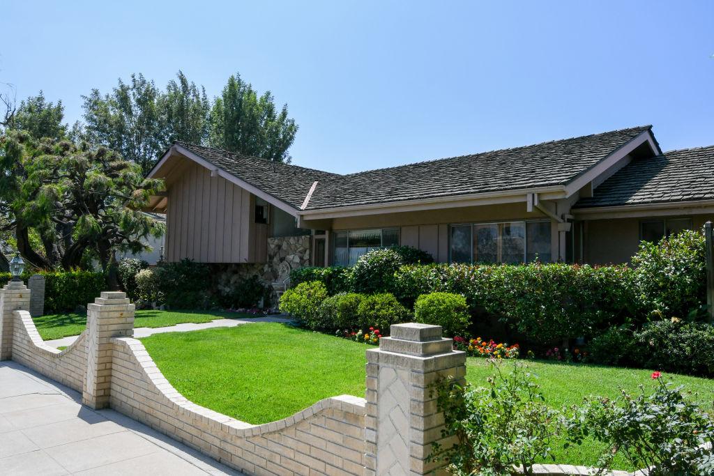 The Brady Bunch house