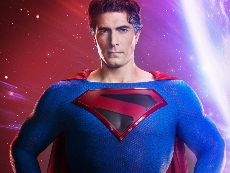 Brandon Routh Superman in Crisis on Infinite Earths