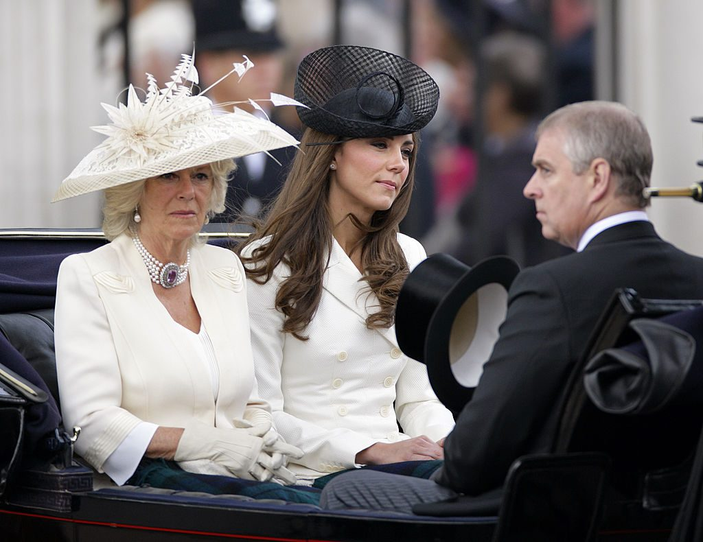 Camilla Parker Bowles, Kate Middleton, Prince Andrew