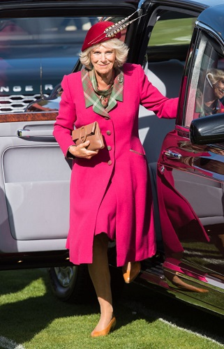 Camilla, Duchess of Cornwall attends an event