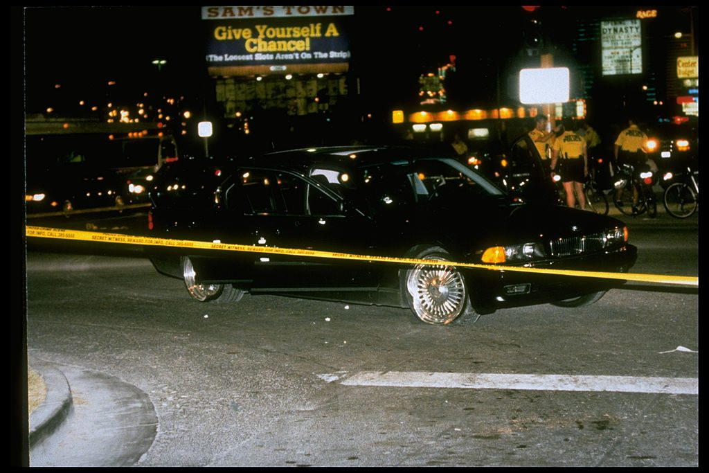Car Tupac was shot in