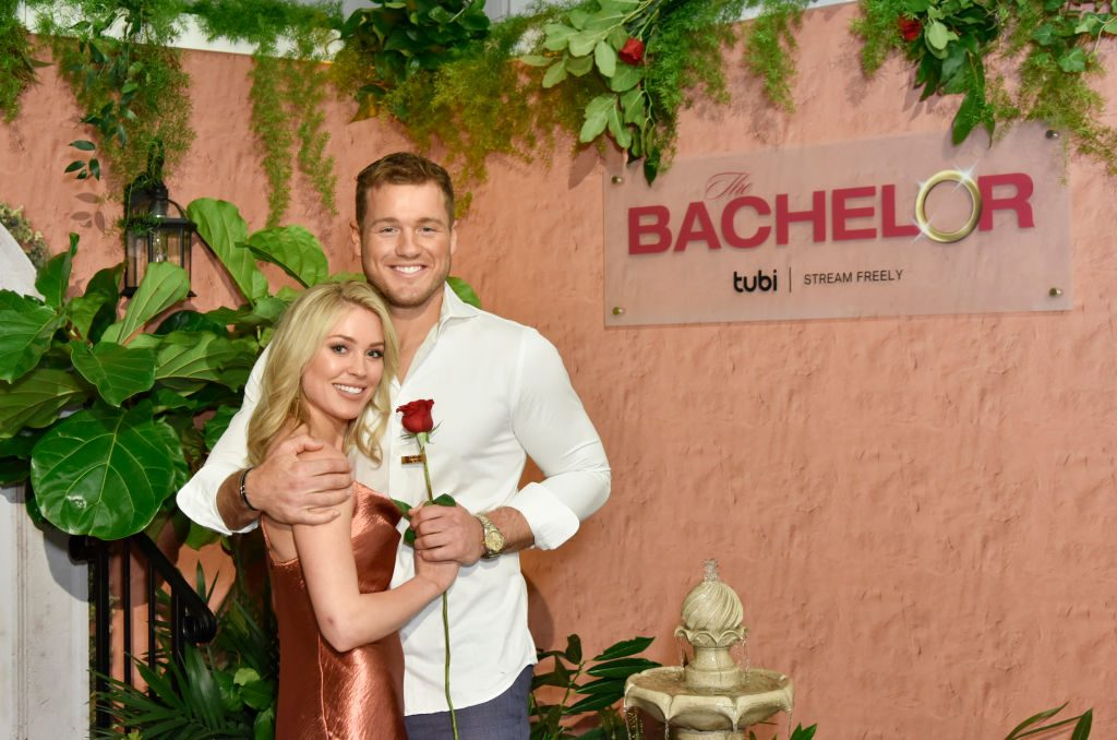 Cassie Randolph and Colton Underwood | Eugene Gologursky/Getty Images