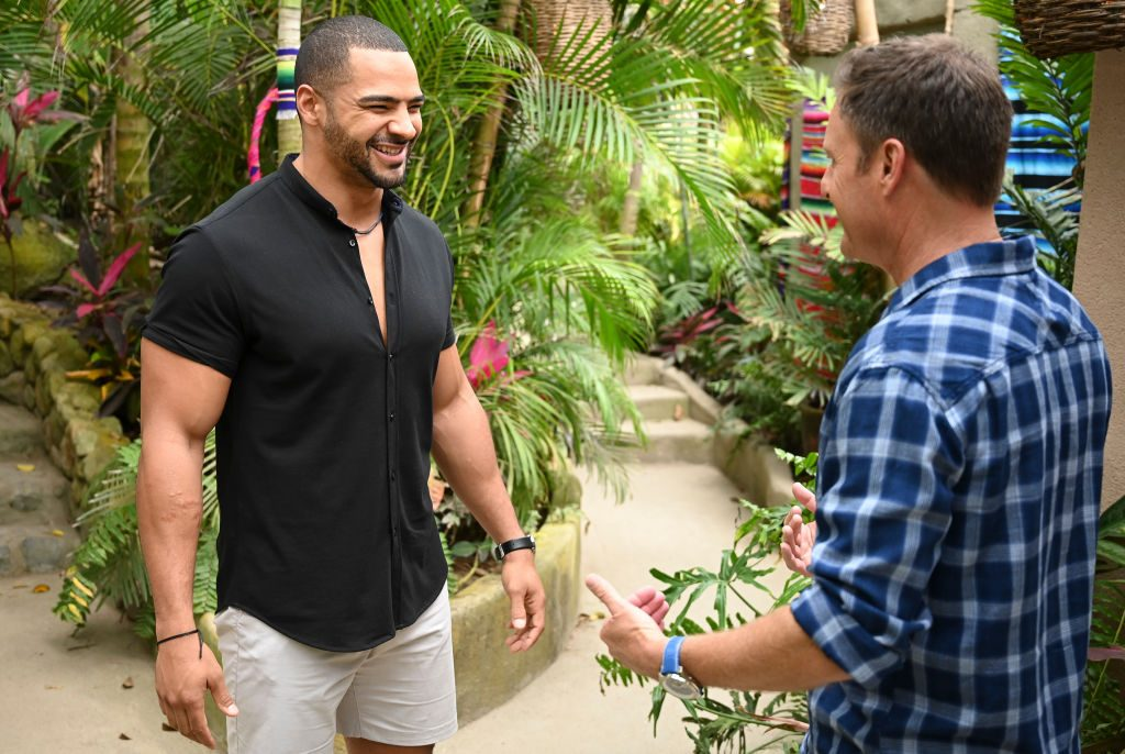 Clay Harbor & Chris Harrison of Bachelor in Paradise