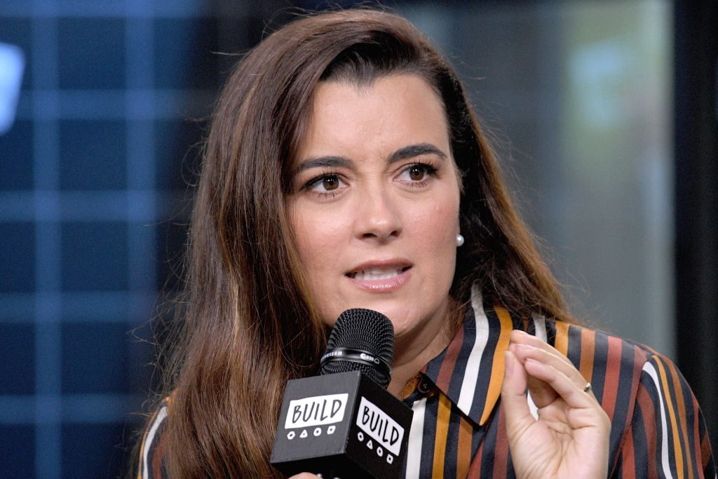 Cote de Pablo in an interview